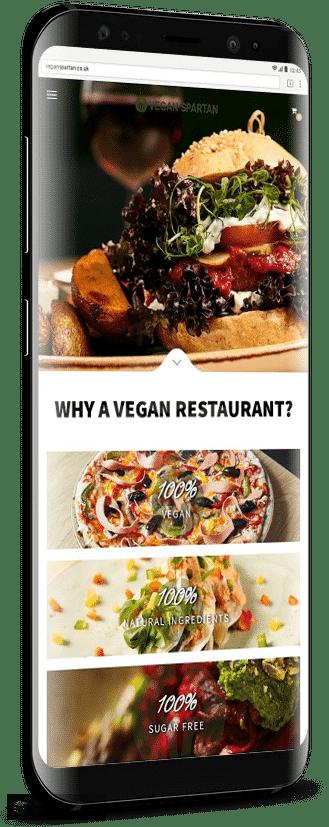 Vegan Spartan Progressive Web App - eCommerce