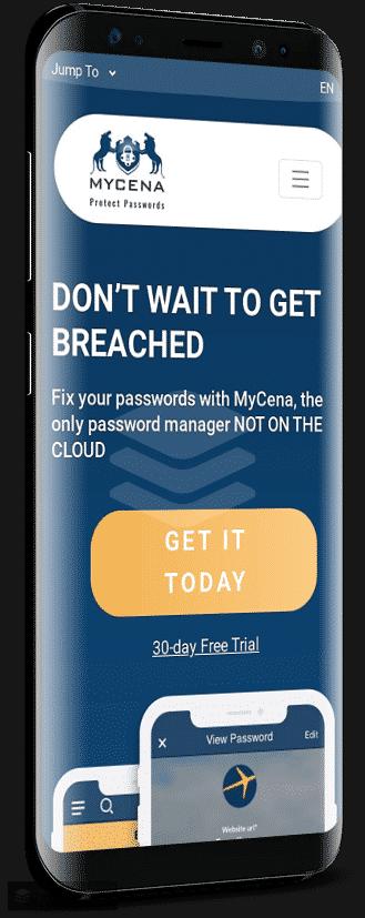 My Cena Progressive Web App - eCommerce