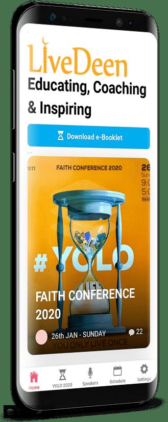LiveDeen Conference – Progressive Web App